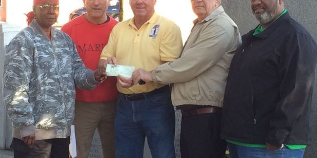 Wounded Minutemen organization receives financial gift from Columbia veterans group