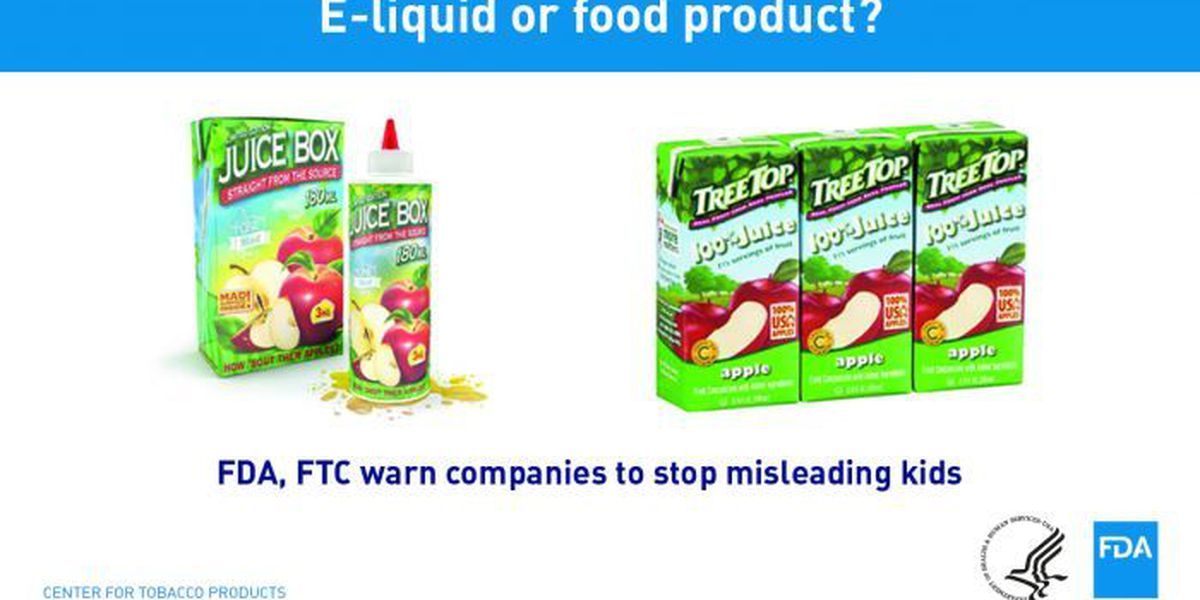 FDA warns of nicotine products resembling food, candy