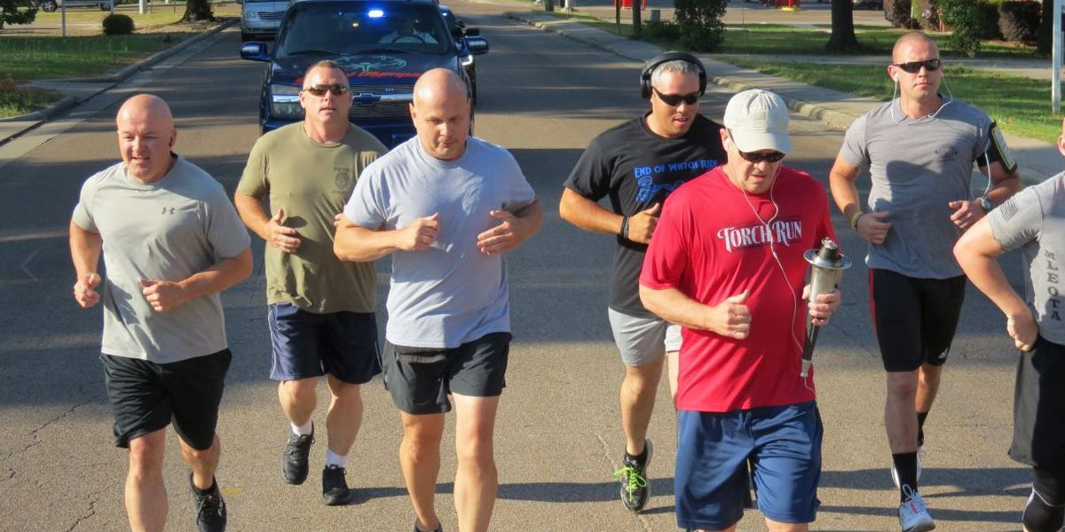 Law Enforcement Torch Run brings Flame of Hope through the Pine Belt