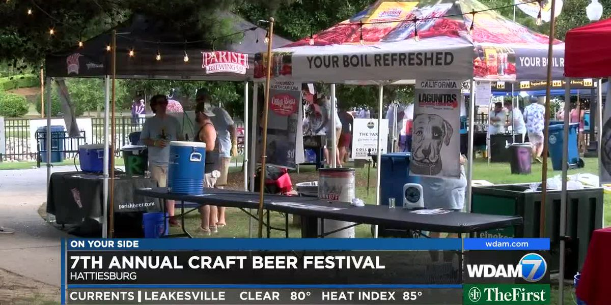 Hundreds gather for 7th annual Hattiesburg Craft Beer Festival