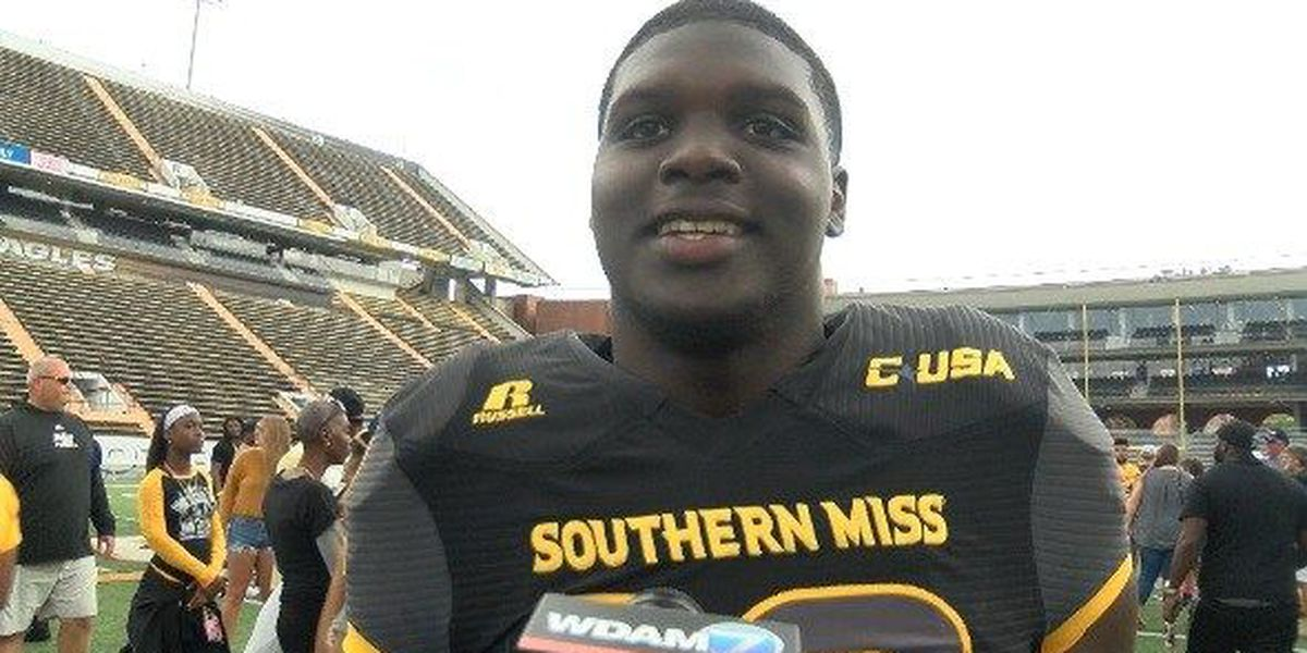 From QB to RB - USM sophomore Steven Anderson making moves