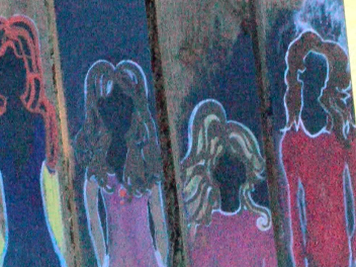 Community creates Unity Wall art installation in Hattiesburg park
