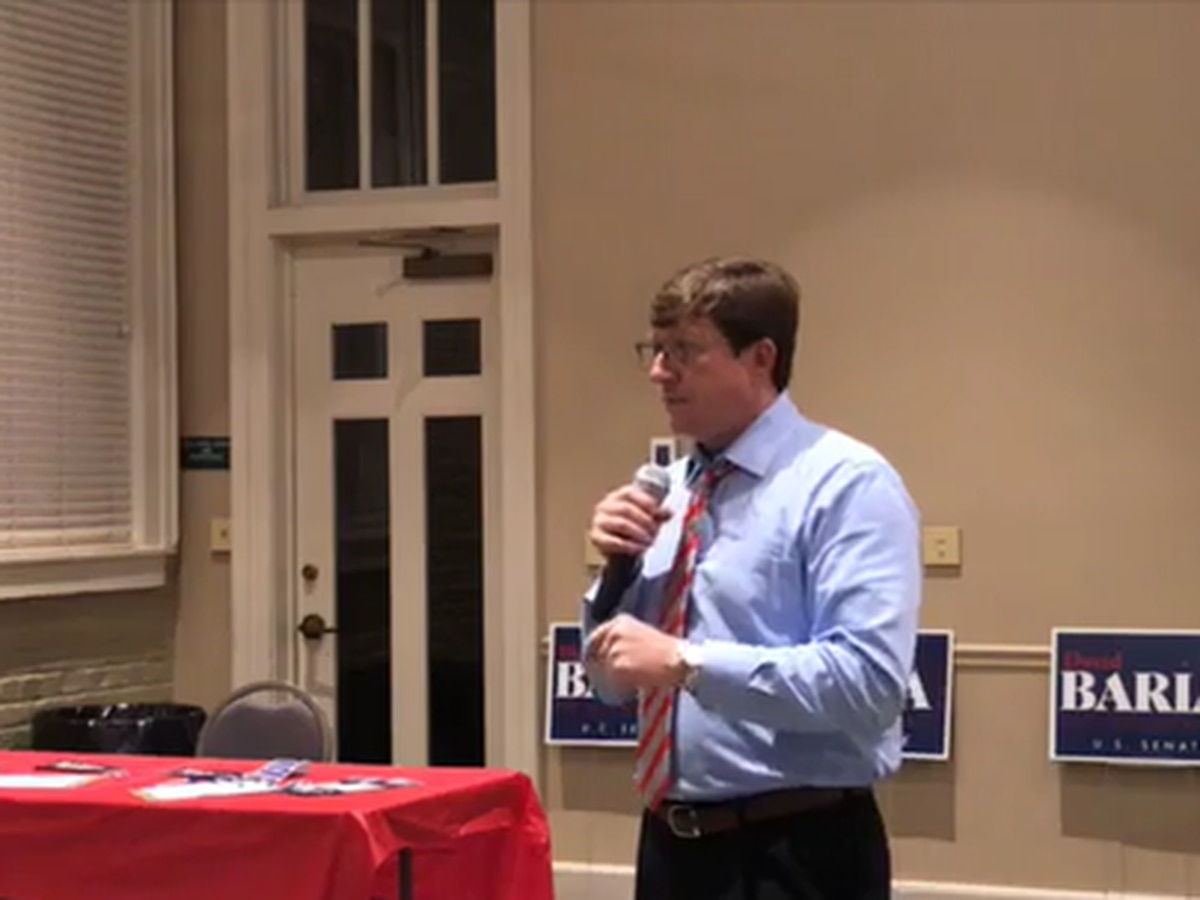 Democratic Senate nominee holds town hall meeting in Laurel
