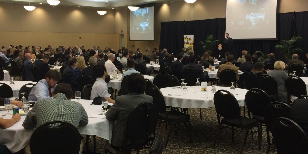 U.S. Chamber CFO speaks at USM economic outlook forum