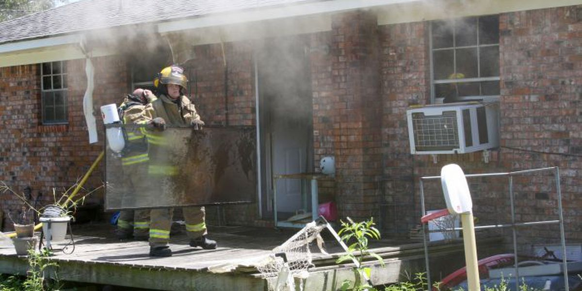 Fire heavily damages home in Jones County