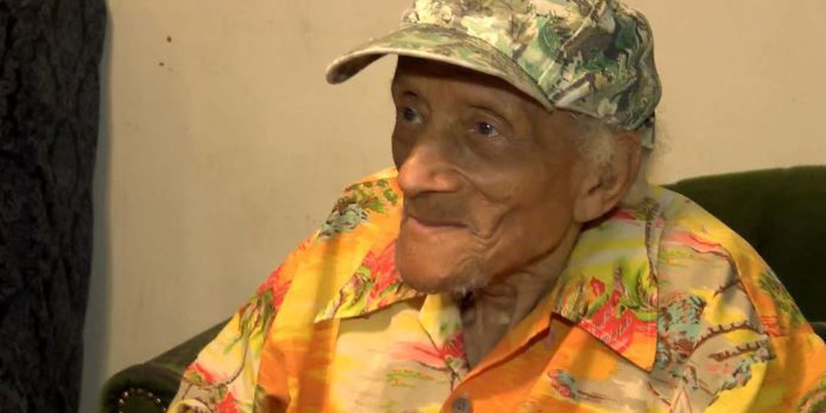 112-year-old Laurel man shares secret to living a long life