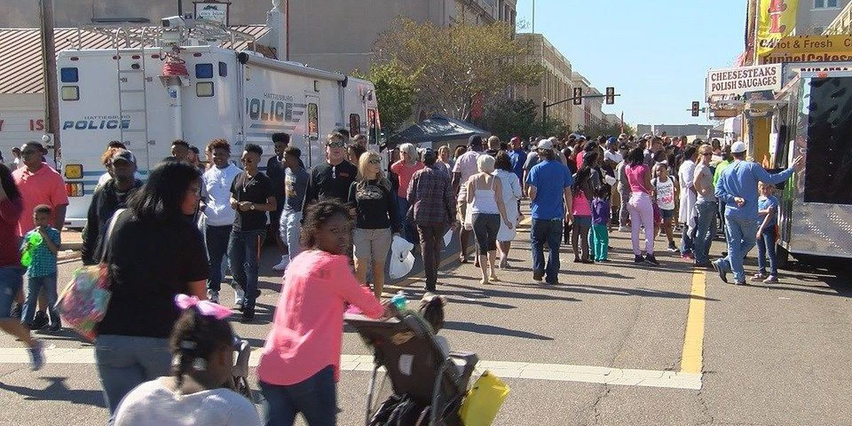Hattiesburg holds 32nd Annual Hubfest