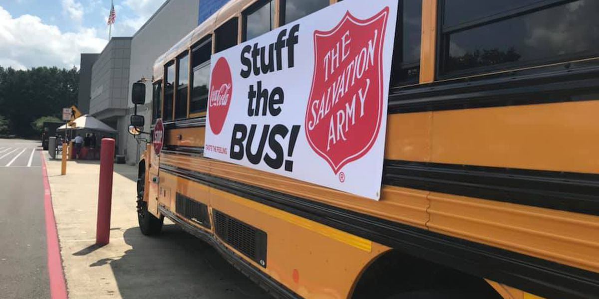 "Salvation Army teams up with Walmart for ""Stuff the Bus"" in the Pine Belt"