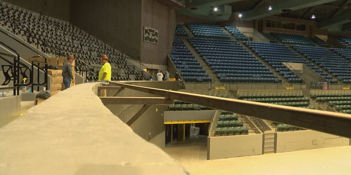 $2.5 million in upgrades coming to Mississippi Coliseum
