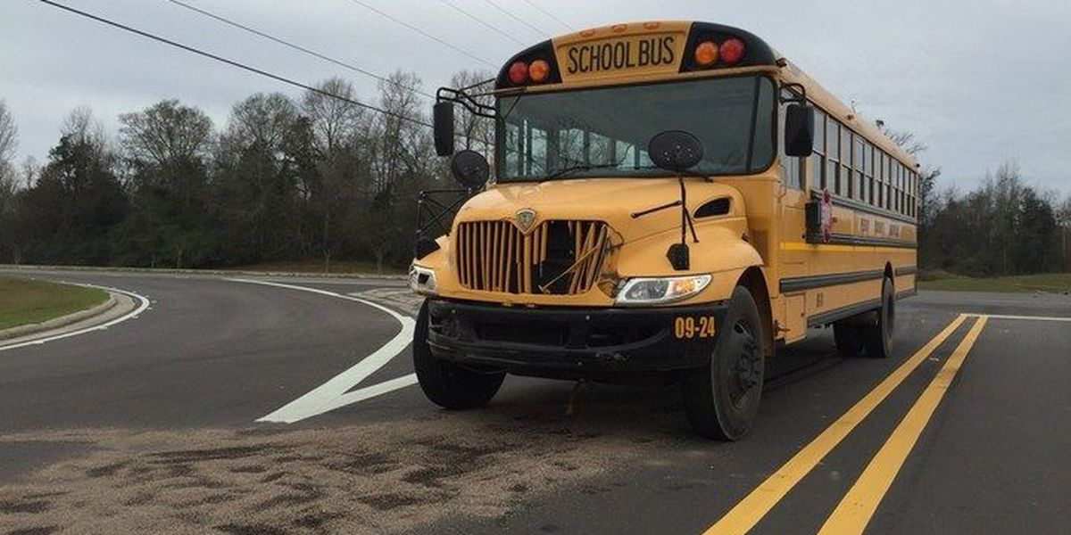 Perry County school bus involved in early morning wreck