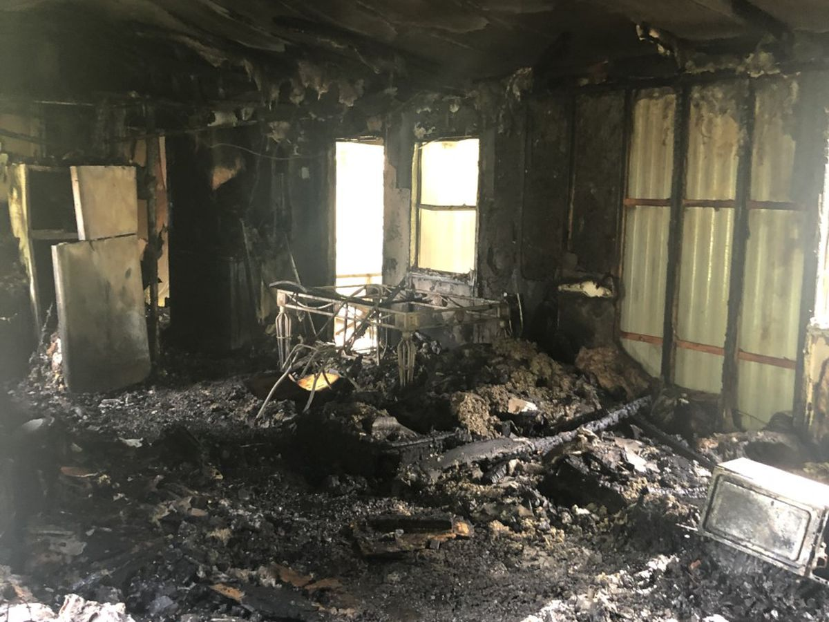 Family loses pet in house fire in Jones Co. Saturday