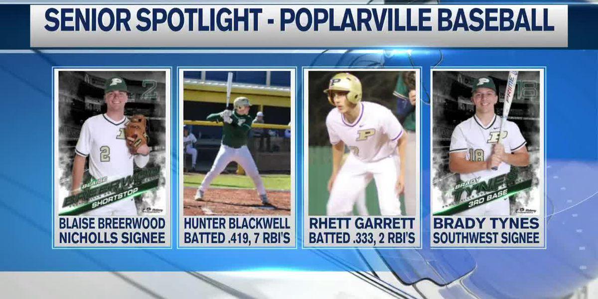 Senior Spotlight - Poplarville Hornets