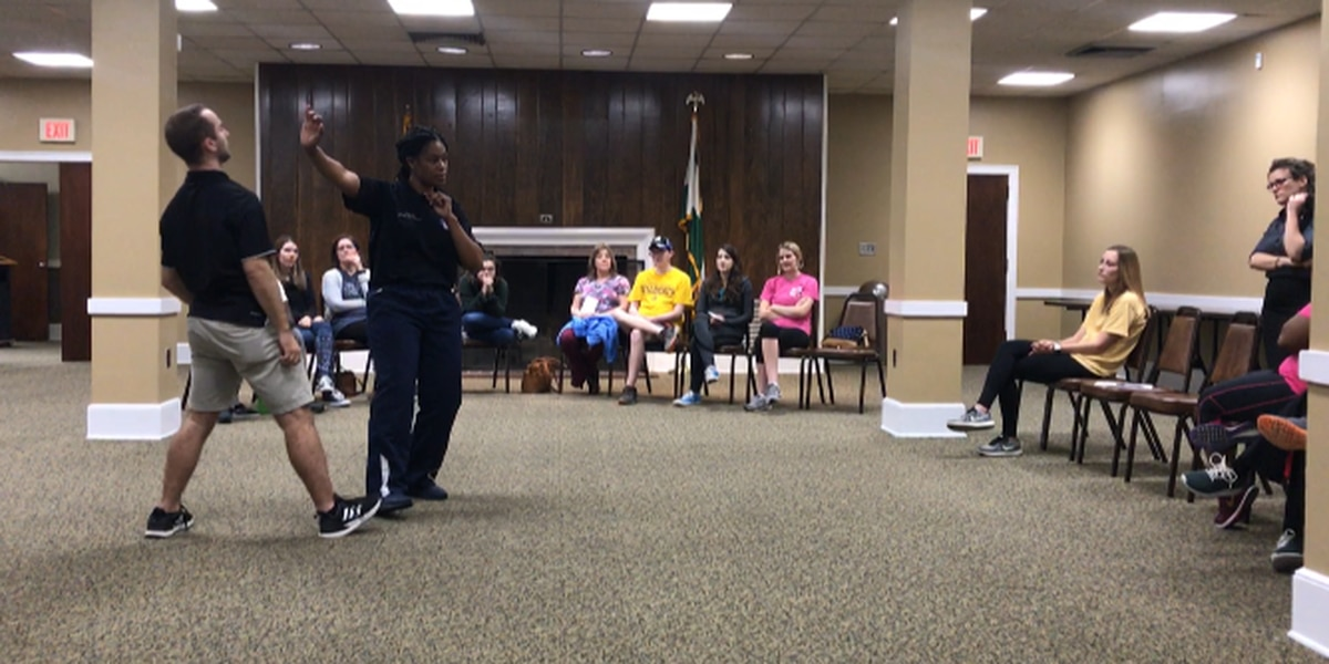 Hattiesburg residents learn basic self-defense skills