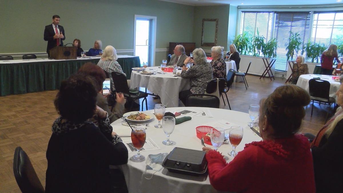 Sec. of State Watson speaks to Jones County GOP Women