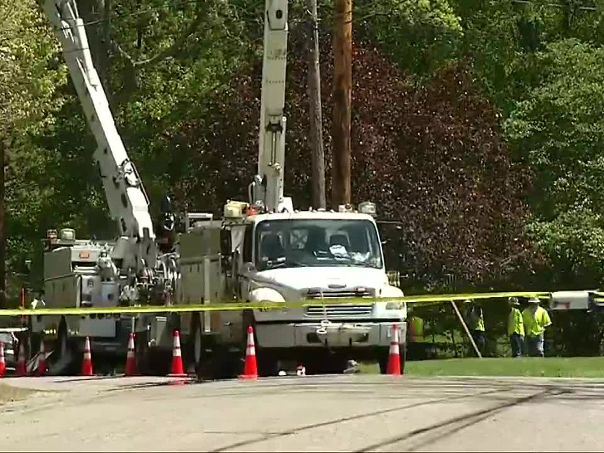 Massachusetts worker shocked by power lines after falling from bucket truck