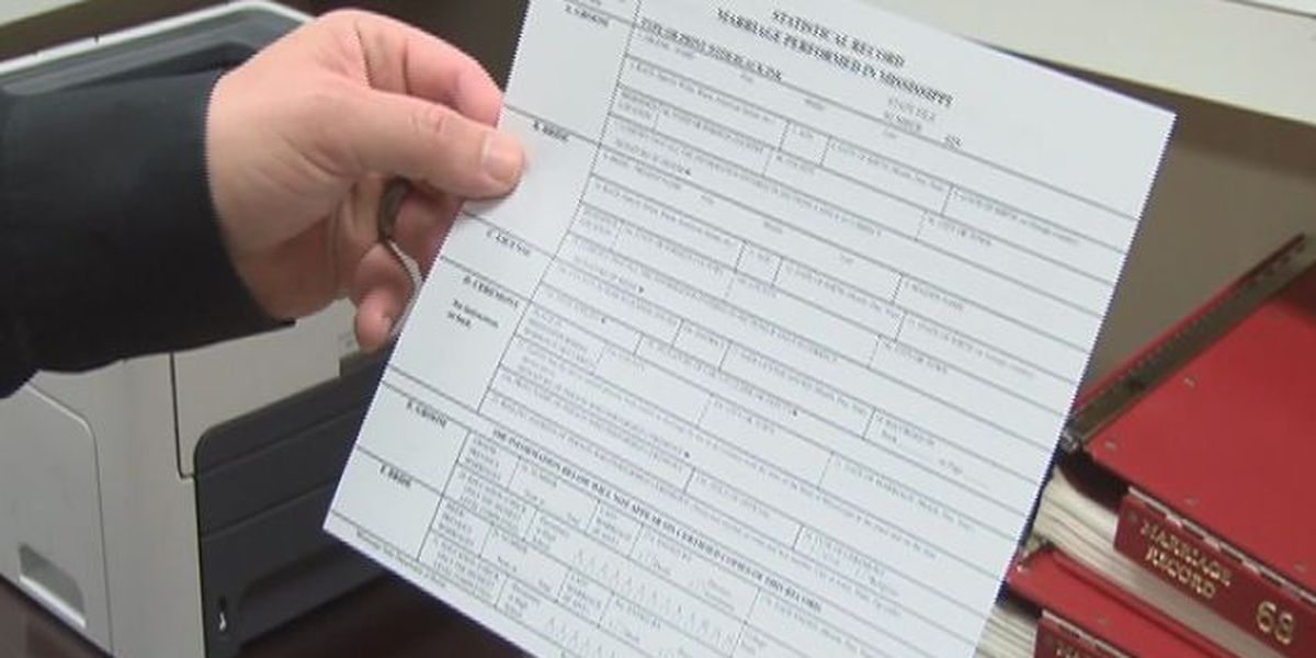 Marriage license for same-sex couples now issued in Jones County