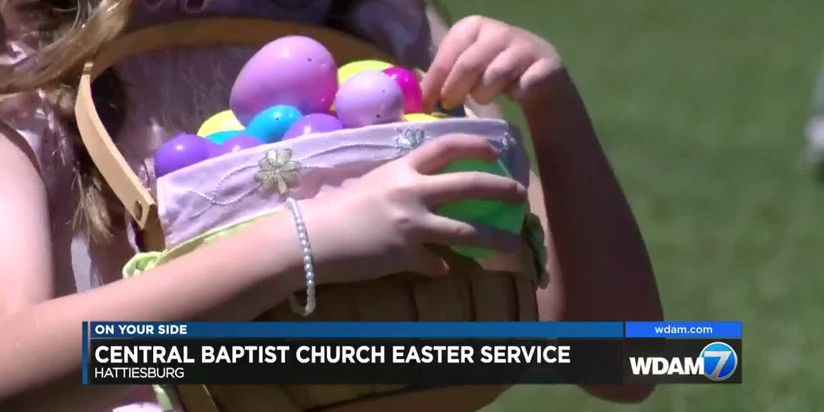 Central Baptist Church holds Easter service