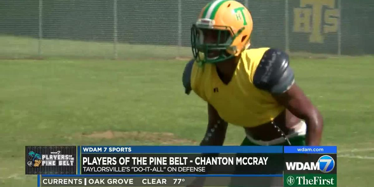Players of the Pine Belt: Title shot remains tops on McCray's, Taylorsville's football agenda