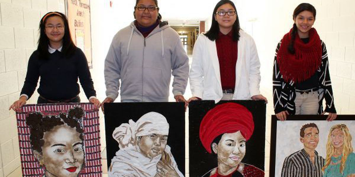 Laurel Middle School students receive state art awards