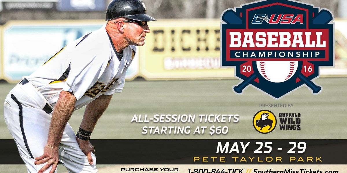 Southern Miss announces C-USA tournament first-round game time