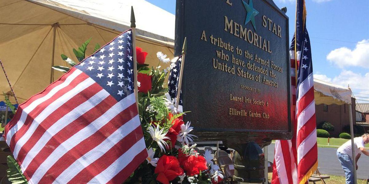Veterans honored with new Blue Star Memorial in Ellisville