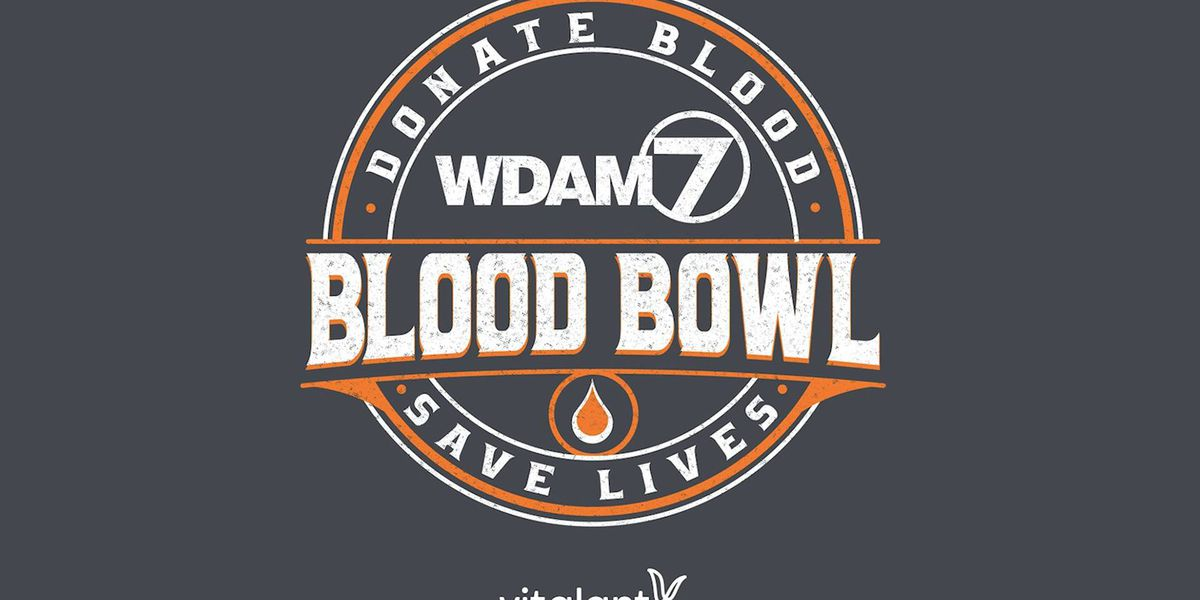 Locations to donate for Blood Bowl next week