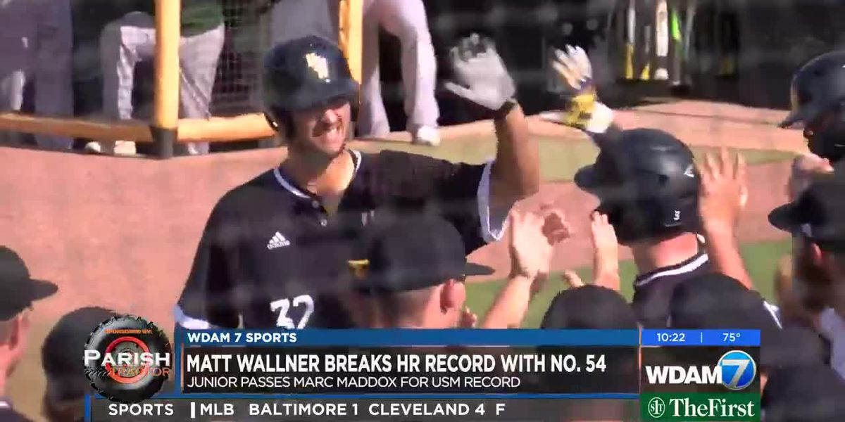 Matt Wallner becomes USM's home run king