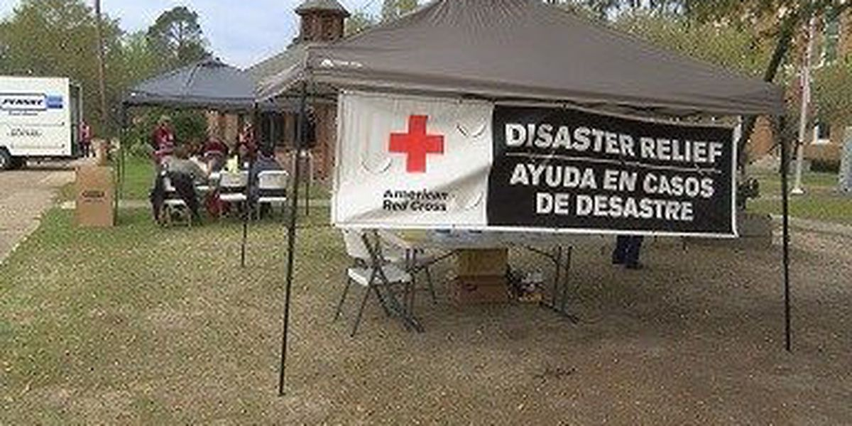 Red Cross sets up temporary community recovery center in Perry County