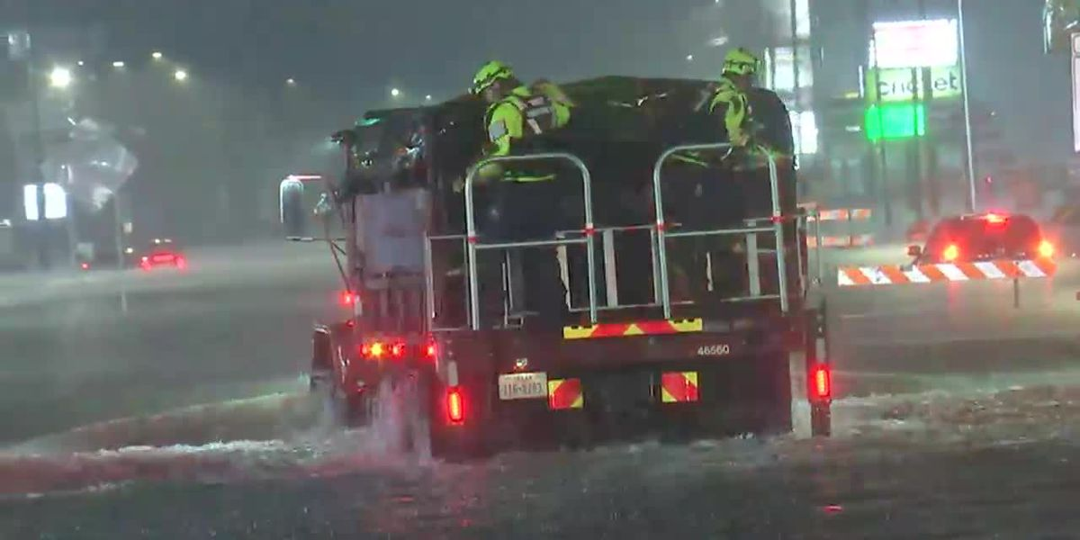 Wet weather along the Gulf Coast while fires rage on the West Coast