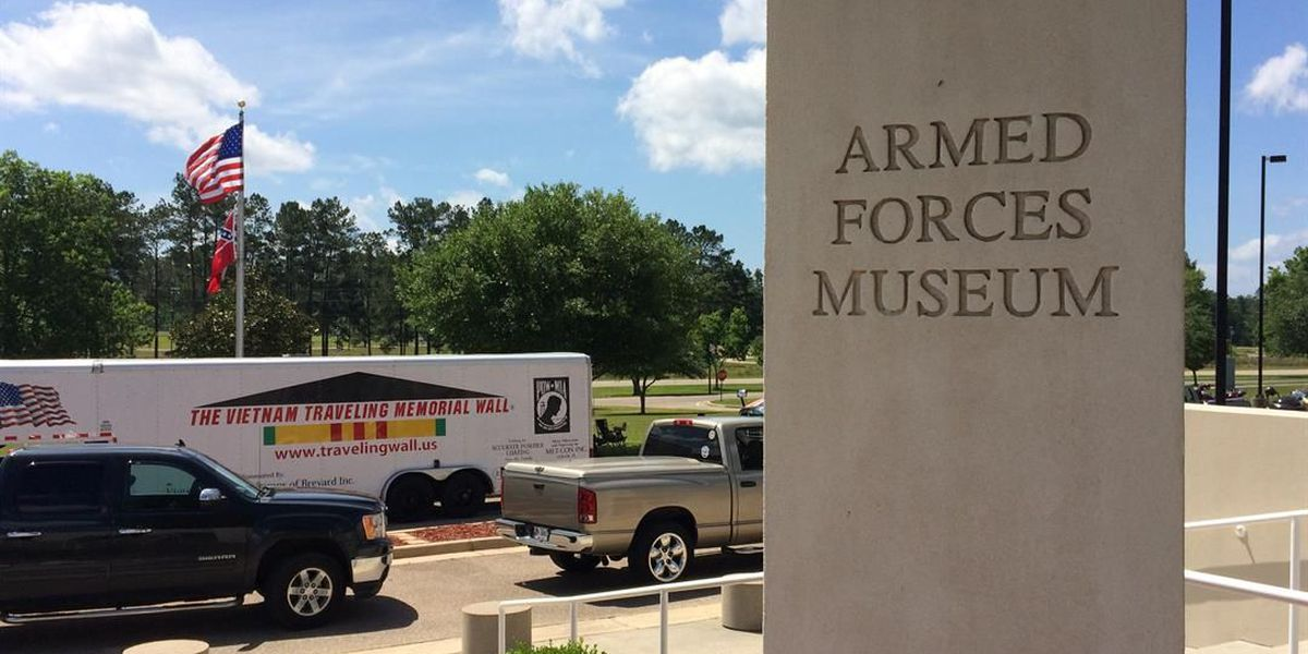 Vietnam Traveling Wall stops at Shelby museum on way to Jackson's Trail of Honor