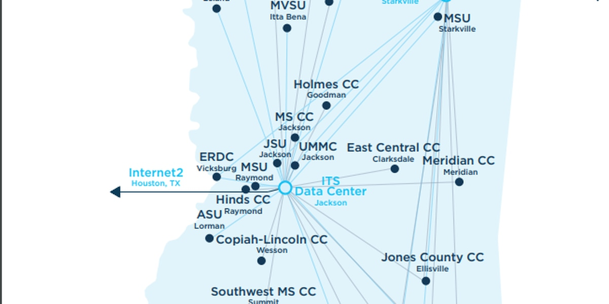 C Spire expands Mississippi Optical Network to state's 15 community colleges