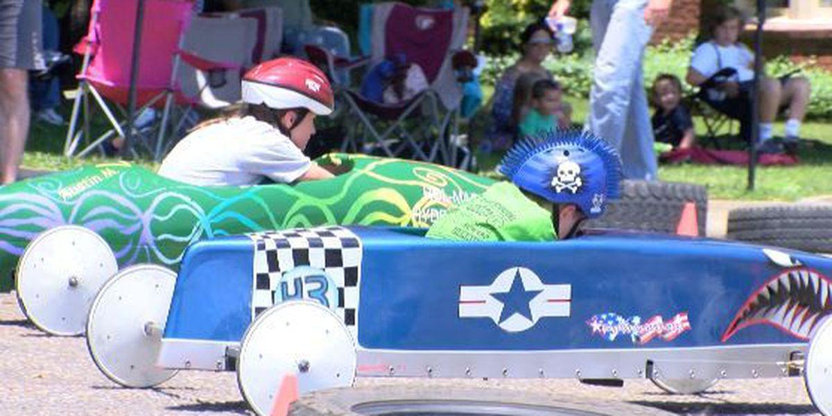 Laurel Rotary Club Hosts 1st Annual Box Derby Race