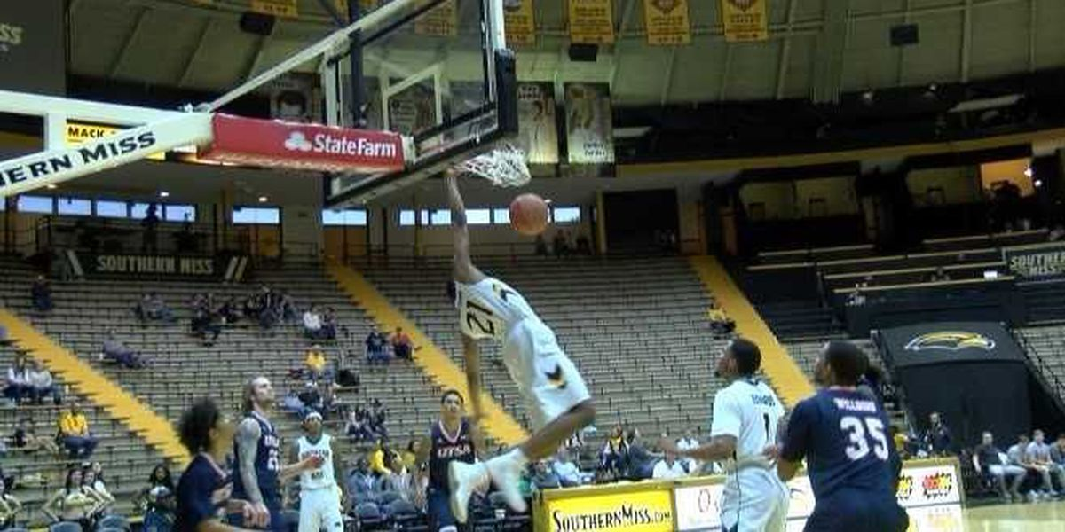 USM withstands 3-point barrage to top UTSA, 93-83