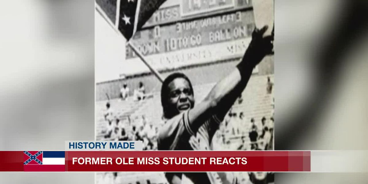 Former Ole Miss cheerleader who refused to carry Confederate flag reacts to new law
