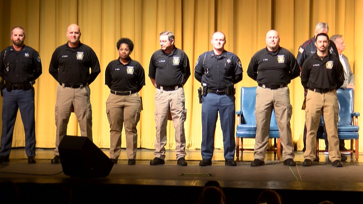 7 graduate from Sandersville Law Enforcement Training Academy