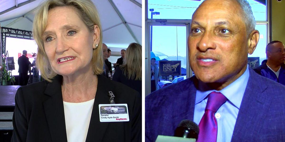 DECISION 2018 | THE RUNOFF: Hyde-Smith, Espy prepare for Tuesday's Senate debate
