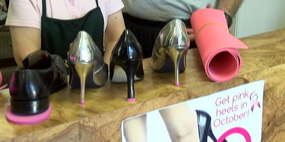 Local shop owners lend their shoe repair talents to a good cause