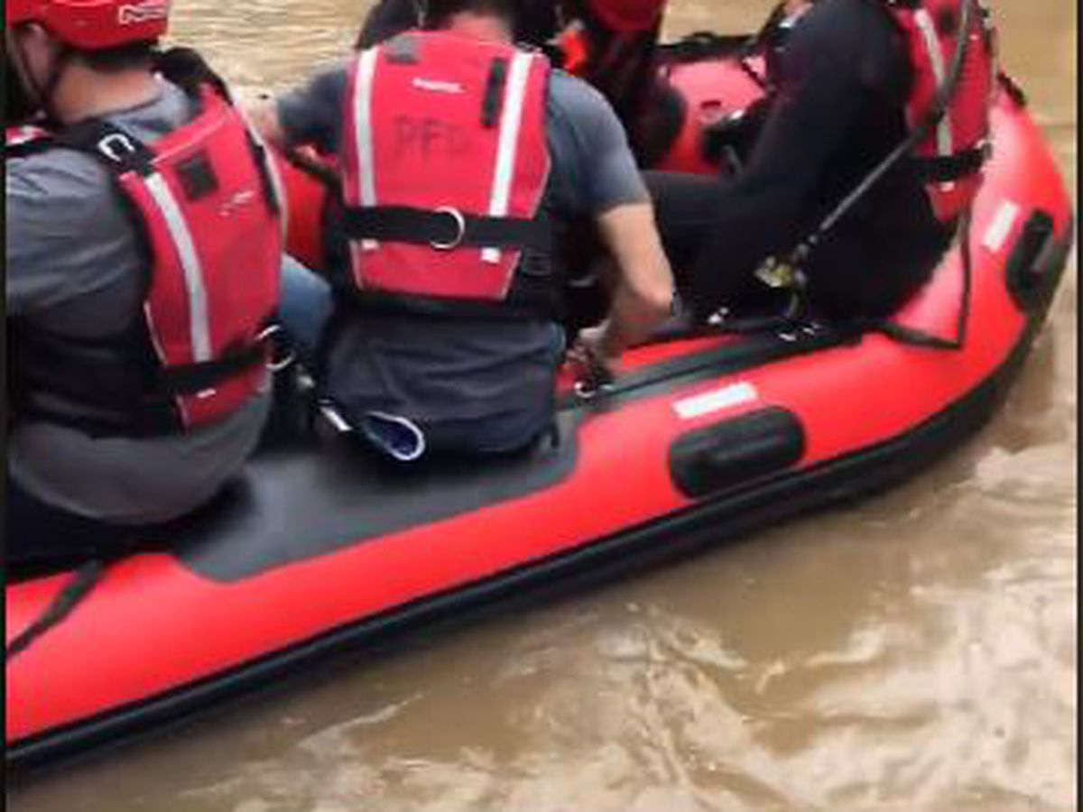 Heavy flooding prompts water rescues in the Pine Belt