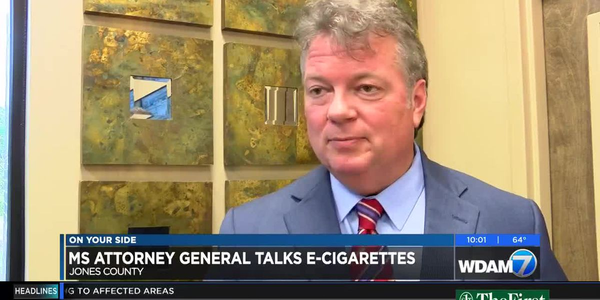Attorney General Jim Hood warns of e-cigarette dangers