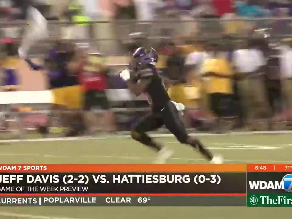 Game of the Week Preview: Jeff Davis vs. Hattiesburg