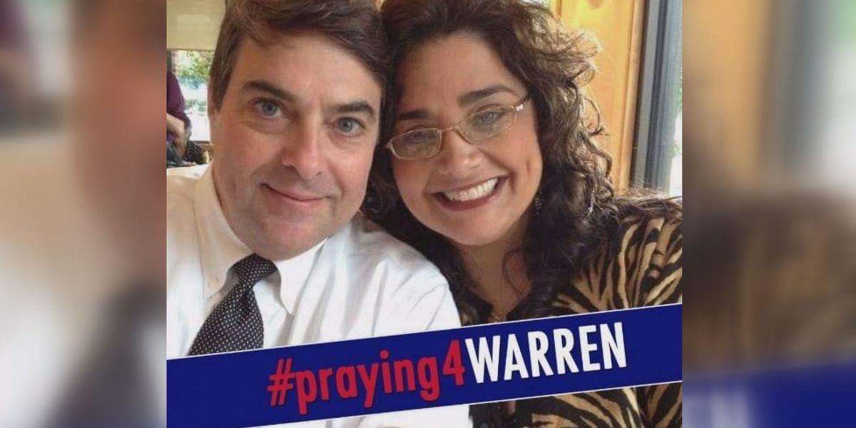 'Your prayers are being heard': Warren Strain out of coma, wife says