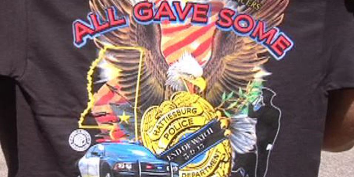 Proceeds from local T-Shirt sales will go to families of fallen officers