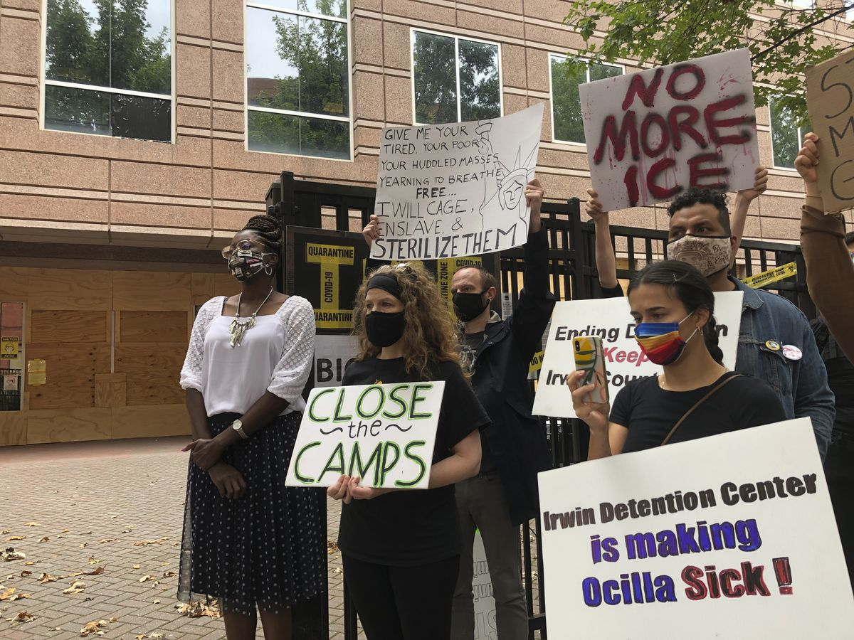 Lawmakers call for shutdown of Georgia detention site due to alleged unnecessary surgeries
