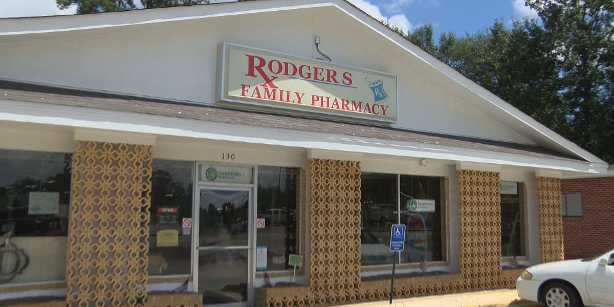 Petal police searching for Rogers Pharmacy burglary suspects
