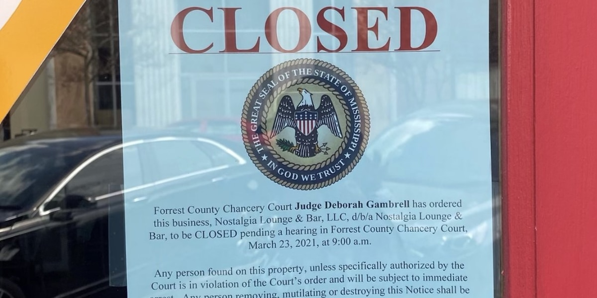 Agreement reached to allow Hattiesburg bar to remain open