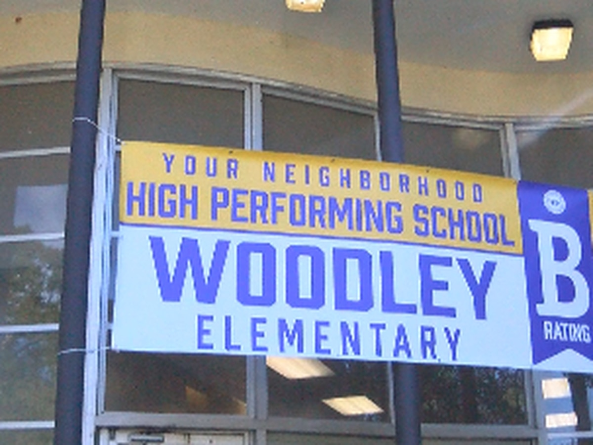 Woodley Elementary School celebrates being rated B school