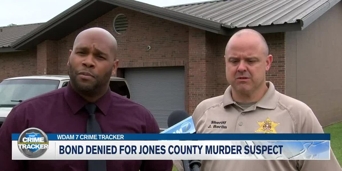 No bond for man accused of killing sister in Jones County