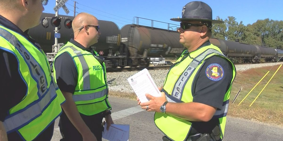 Railroad safety blitz held in Petal