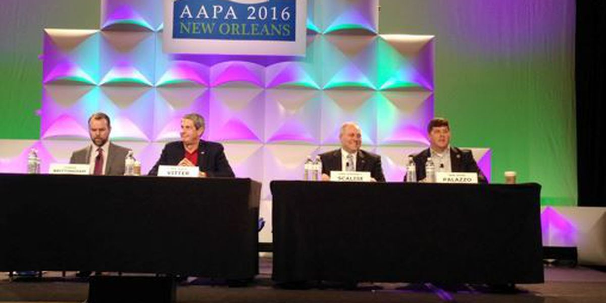 Congressman Palazzo speaks at National Port Authority Conference