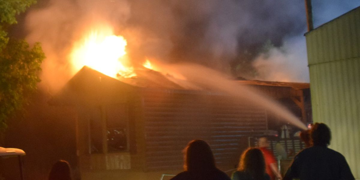 Home destroyed, pet killed after fire in Jones County